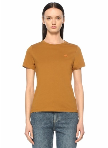 Kenzo Polo Yaka T-shirt Bej